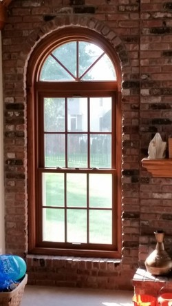 Okna Starmark window installed into a home Bridgewater, NJ